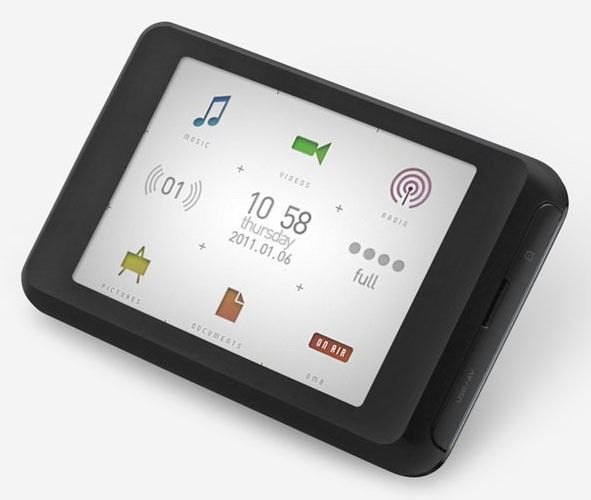 MP3 плеер COWON C2 flash 8Гб черный/серебристый