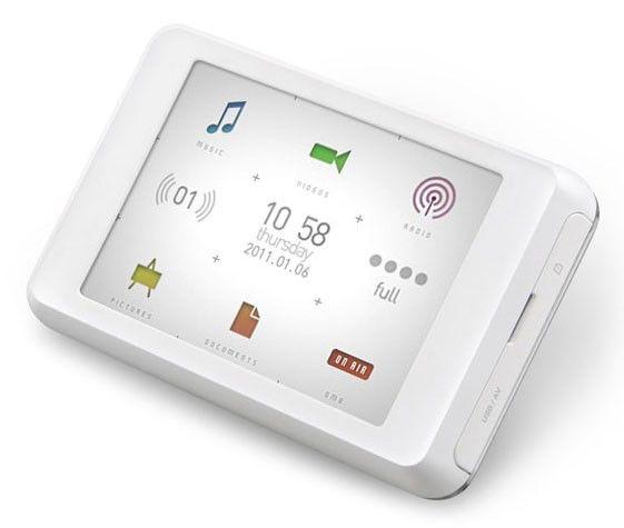 MP3 плеер COWON C2 flash 16Гб белый