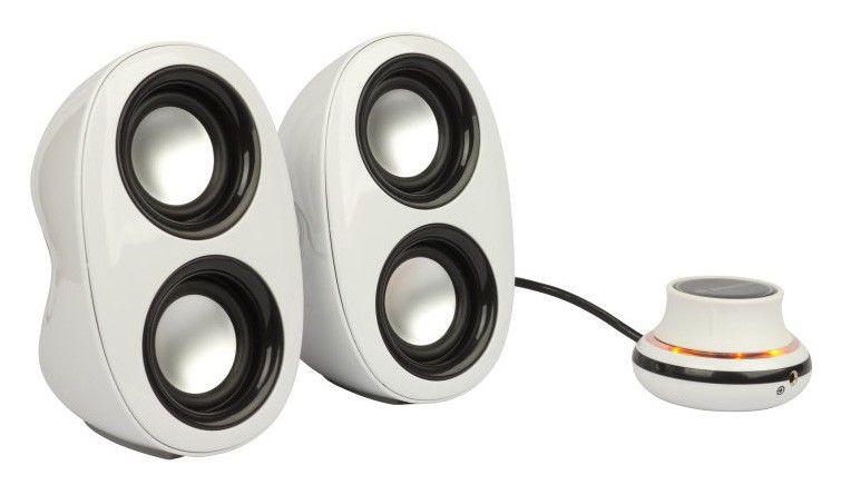 Колонки JETBALANCE JB-160,  белый,  черный [jb-160 wb]