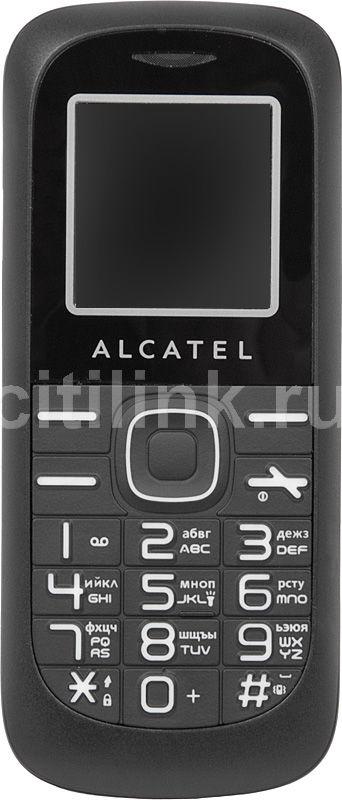 Мобильный телефон ALCATEL OT-213  черный