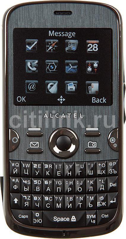 Мобильный телефон ALCATEL OT-799  черный
