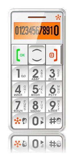 Мобильный телефон JUST5 CP09,  белый