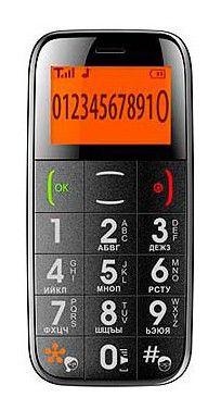 Мобильный телефон JUST5 CP10  черный