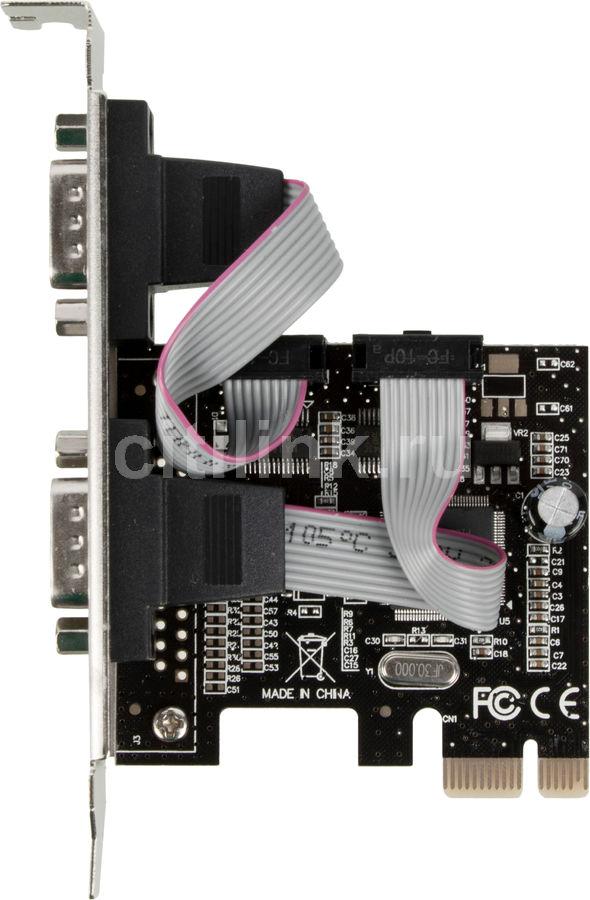 Контроллер PCI-E 2S port,WCH382,модель PCIe2SLWCH,low profile oem Espada