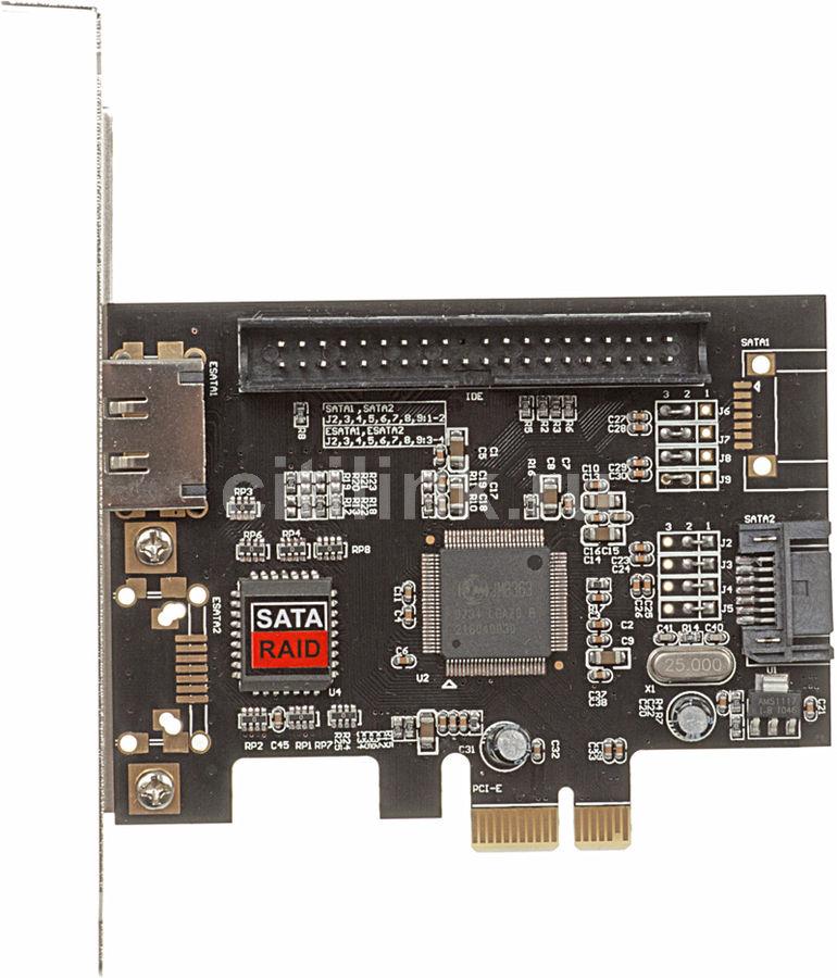 Контроллер PCI-E JMB363 RAID 2xSATA 1xIDE JMB363 [asia pcie 363 sata/ide]