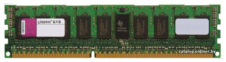 Память DDR3 4Gb 1333MHz ECC Reg CL9 DIMM SR x4 w/TS Kingston (KVR1333D3S4R9S/4G)