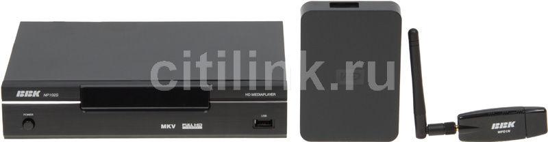 Медиаплеер BBK NP102S + HDD 1Tb + Wi-Fi адаптер,  черный