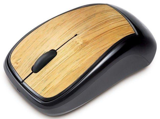 Мышь GENIUS Navigator 905 bamboo оптическая беспроводная USB, черный [gm-navigator 905 bb]
