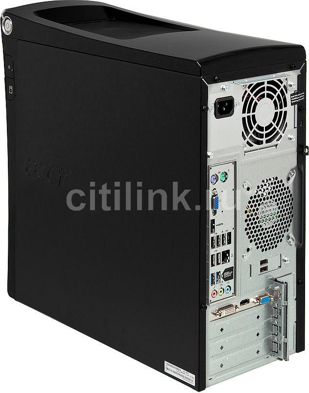 Goede Купить Компьютер ACER Aspire M3970, черный в интернет-магазине XU-64