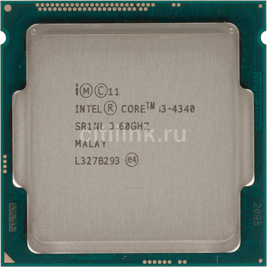 Процессор INTEL Core i3 4340, LGA 1150 OEM [cm8064601482422s r1nl]