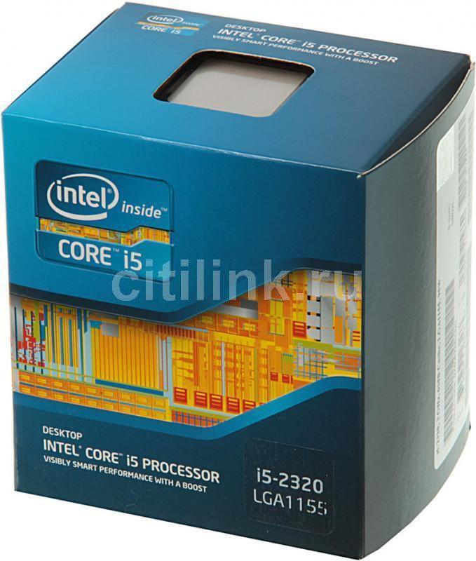 Процессор INTEL Core i5 2320, LGA 1155 BOX [bx80623i52320 s r02l]