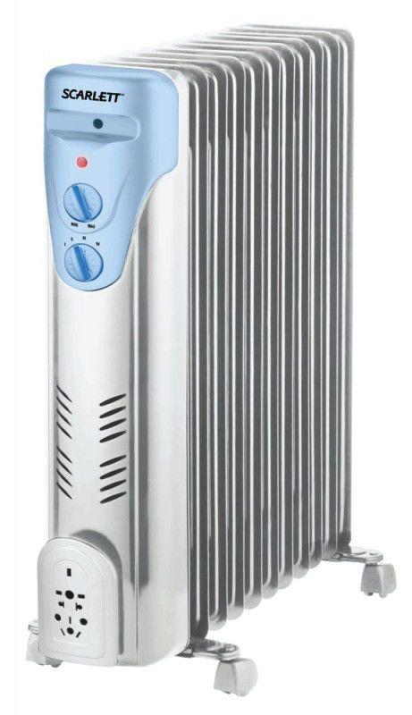 Масляный радиатор SCARLETT SC-053, 2500Вт, белый