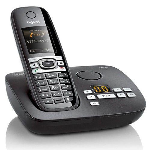 Радиотелефон GIGASET С610A,  черный [c610a]