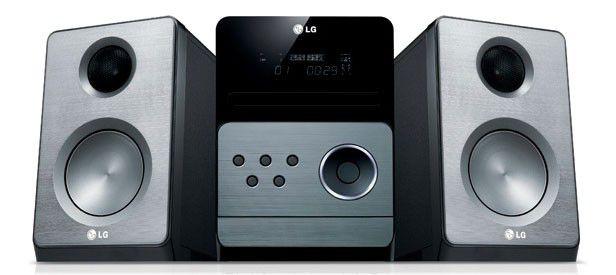 Музыкальный центр LG XB66,  серебристый