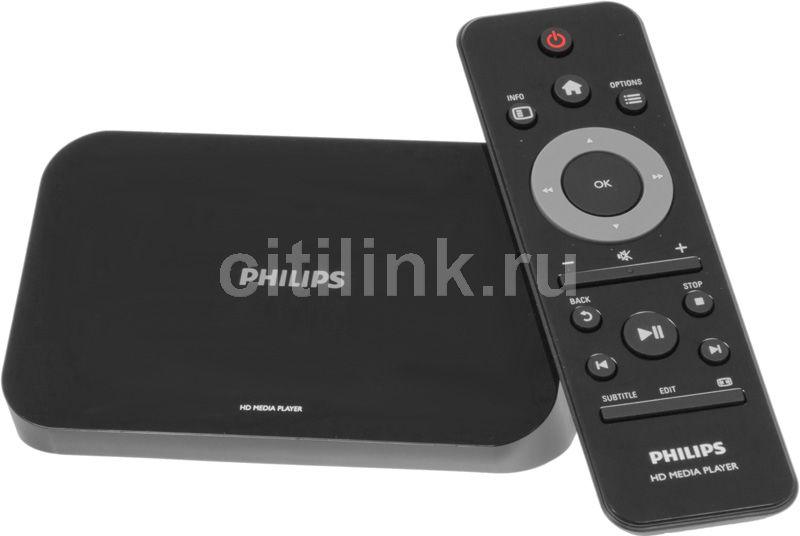 Медиаплеер PHILIPS HMP3000/12,  черный