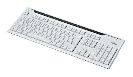 Клавиатура FUJITSU KB520,  USB, белый [s26381-k520-l119]