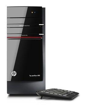 Компьютер  HP Pavilion HPE h8-1100ru,  Intel  Core i5  2320,  DDR3 6Гб, 2Тб,  nVIDIA GeForce GTX 550Ti - 1024 Мб,  DVD-RW,  CR,  Windows 7 Home Premium,  черный и красный [h0b72ea]