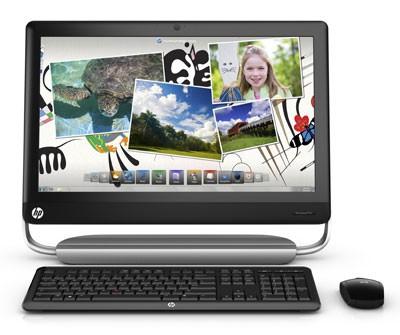 Моноблок HP TouchSmart 520-1001ru, Intel Core i3 2120, 4Гб, 1Тб, AMD Radeon HD 6450A - 1024 Мб, DVD-RW, Windows 7 Home Premium, черный и серебристый [ln648ea]
