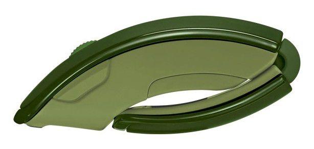 Мышь MICROSOFT Arc лазерная беспроводная USB, зеленый [zja-00040]