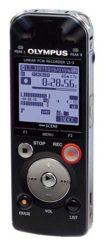 Диктофон OLYMPUS LS-3 4 Gb,  черный [n2290021]