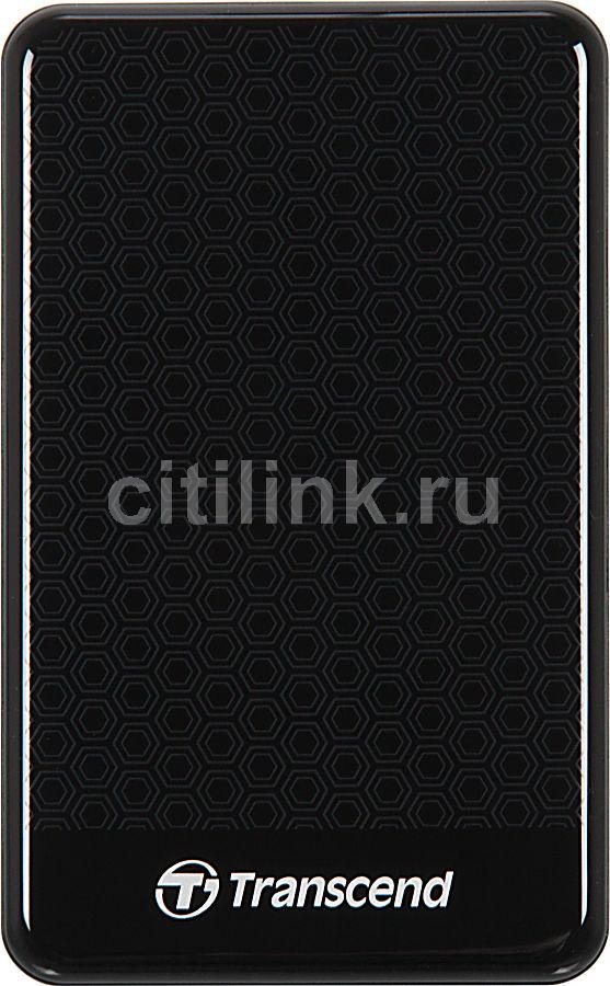 Внешний жесткий диск TRANSCEND StoreJet 25A3K TS1TSJ25A3K, 1Тб, черный