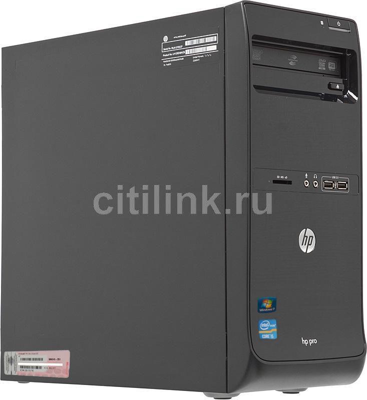 HP Pro 3400,  Intel  Core i5  2400,  DDR3 4Гб, 500Гб,  Intel HD Graphics,  DVD-RW,  Windows 7 Professional,  черный [lh123ea]