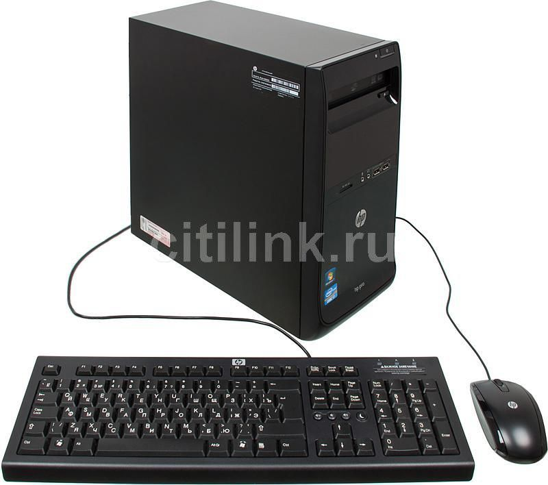 Компьютер  HP Pro 3400,  Intel  Core i7  2600,  DDR3 8Гб, 1Тб,  nVIDIA GeForce GT520 - 1024 Мб,  DVD-RW,  Windows 7 Professional,  черный [lh201ea]