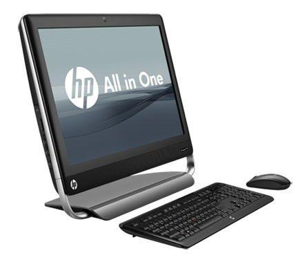 Моноблок HP TouchSmart Elite 7320, Intel Core i5 2400S, 4Гб, 500Гб, Intel HD Graphics, DVD-RW, Windows 7 Professional, черный и серебристый [lh178ea]