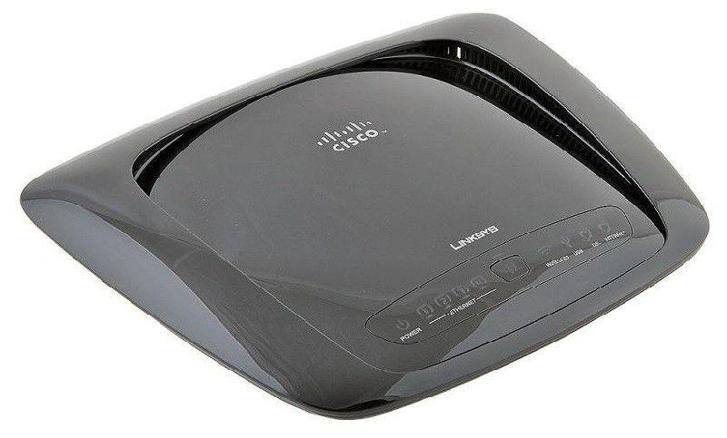 Модем LINKSYS WAG320N xDSL, внешний, черный [wag320n-eu]