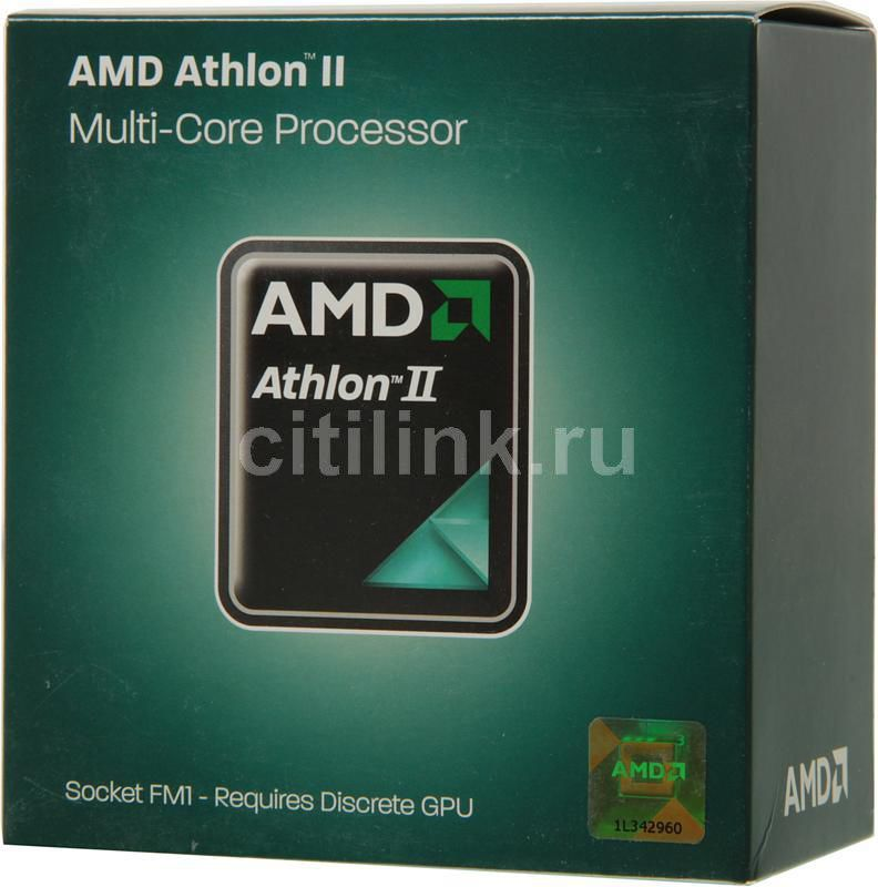 Процессор AMD Athlon II X4 631, SocketFM1 BOX [ad631xwngxbox]