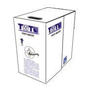 Кабель информ. Lanmaster (TWT-5EUTP2-GY) кат.5 U/UTP 2X2X24AWG PVC внутр. 305м сер.