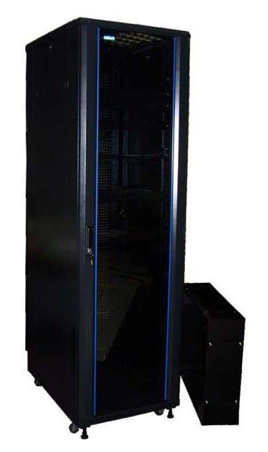Шкаф серверный Lanmaster Business (TWT-CBB-42U-6X10-00) 42U 600x1000мм без пер.дв. без задн.дв. 2 бо