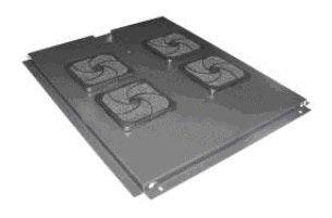 Блок вентиляторов Lanmaster (TWT-CBE-FAN4-8) 4 вент. серый (упак.:1шт)