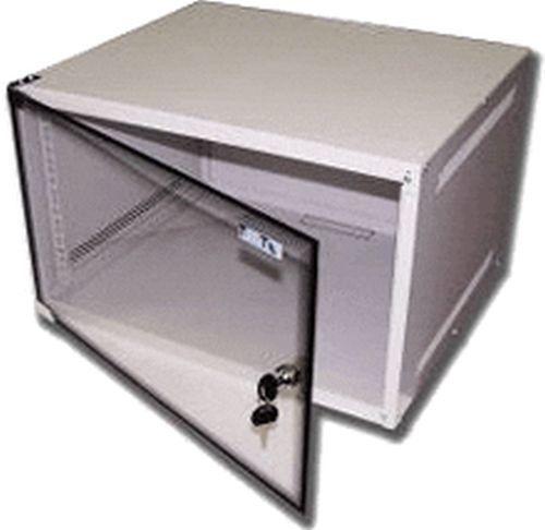 Шкаф настенный Lanmaster Lite (TWT-CBWL-12U-6X4 ) 12U 600x450мм пер.дв.стекл несъемные бок.пан. 30кг