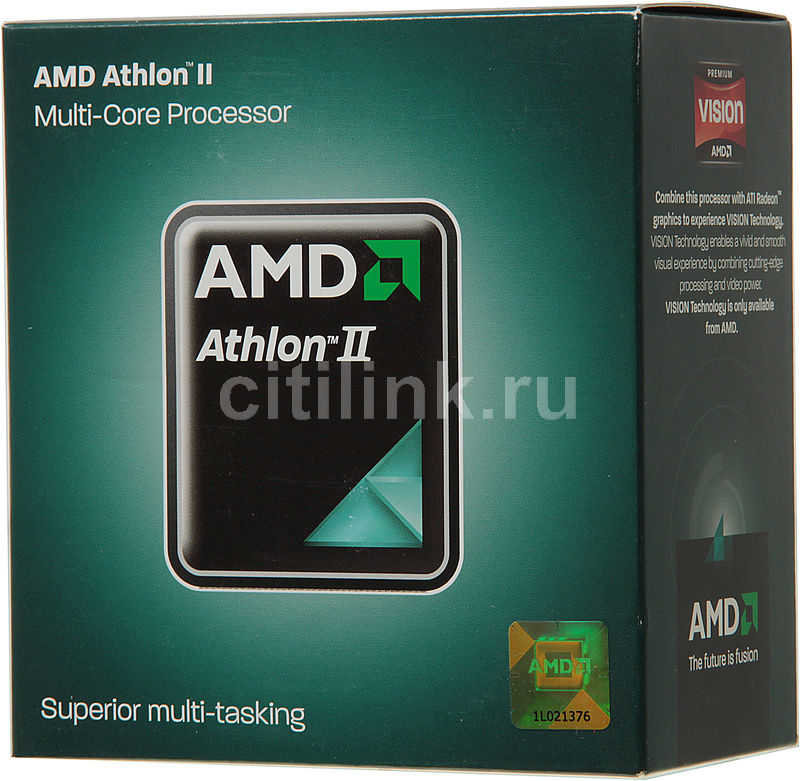 Процессор AMD Athlon II X3 460, SocketAM3 BOX [adx460wfgmbox]