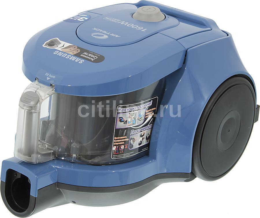 Пылесос SAMSUNG SC4326, 1600Вт, синий