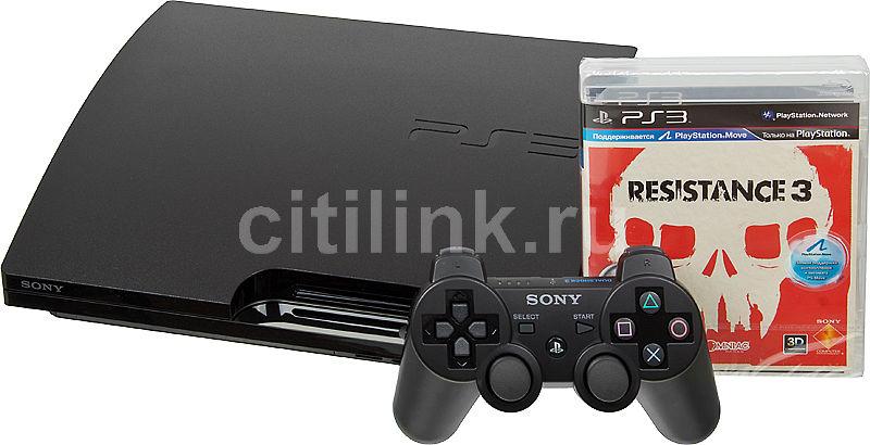 Игровая консоль SONY PlayStation 3 PS719232018, черный