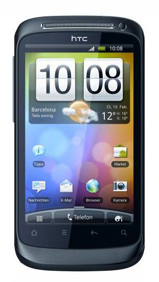 Смартфон HTC Desire S синий