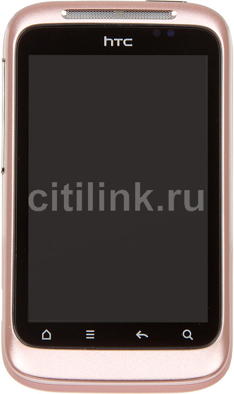 Смартфон HTC Wildfire S розовый