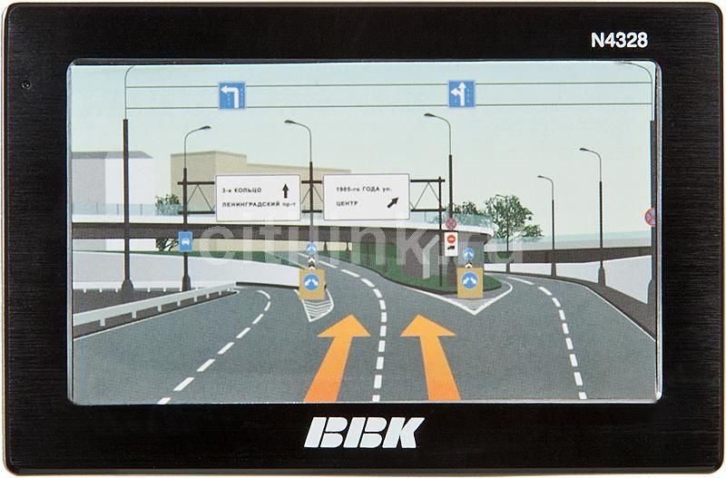 GPS навигатор BBK N4328,  4.3