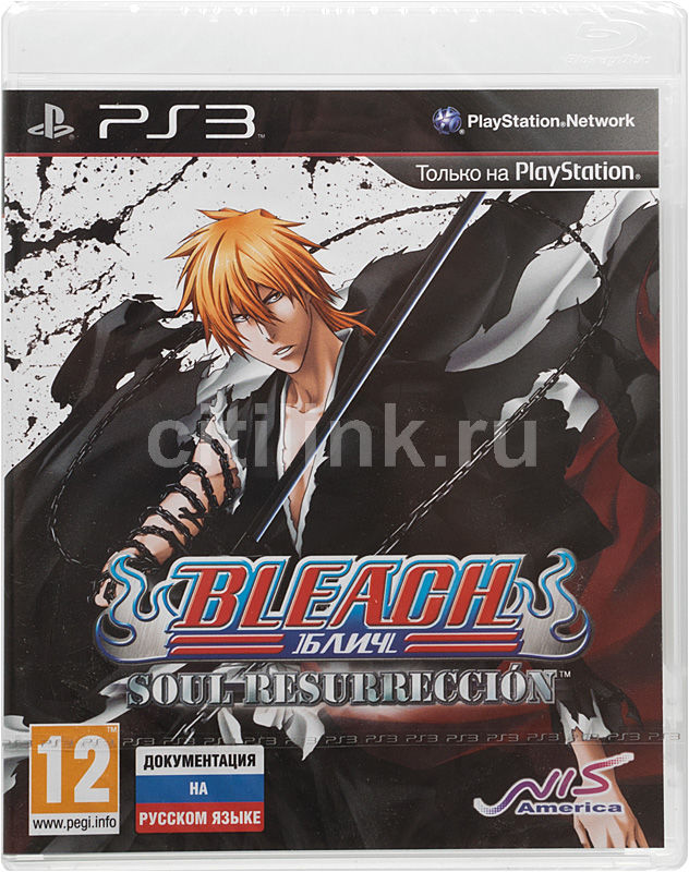 Игра SONY Bleach: Soul Resurreccion для  PlayStation3 Rus (документация)
