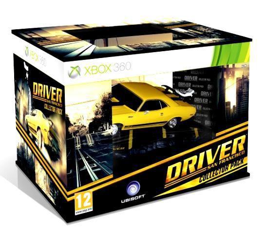 Игра MICROSOFT Driver: Сан-Франциско Collector`s Edition для  Xbox360 Eng
