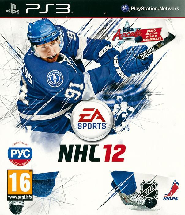 Игра SOFT CLUB NHL 12 для  PlayStation3 Eng