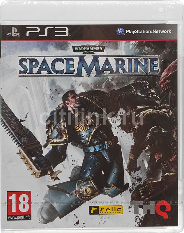 Игра SOFT CLUB Warhammer 40000: Space Marine для  PlayStation3 Rus (документация)