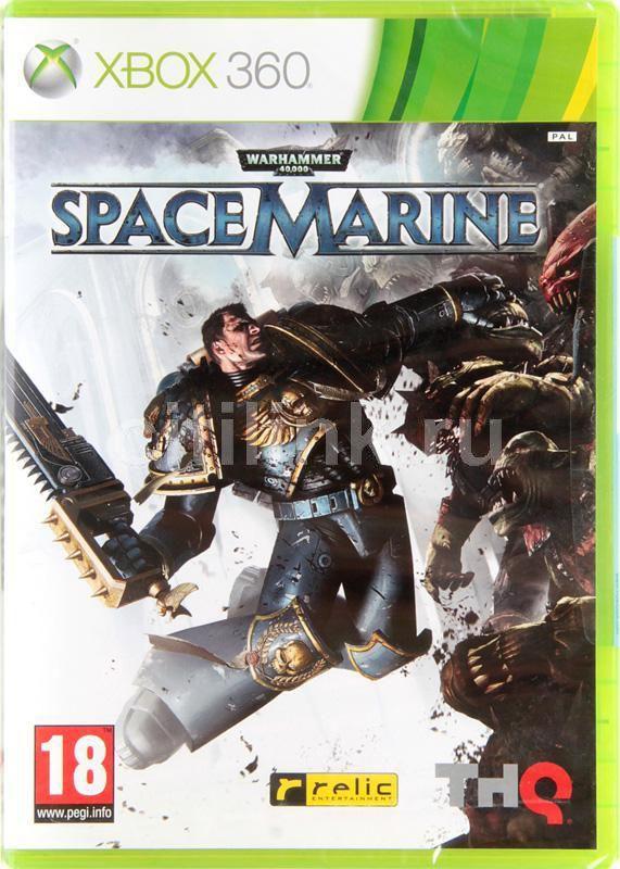 Игра MICROSOFT Warhammer 40000: Space Marine для  Xbox360 Rus (документация)
