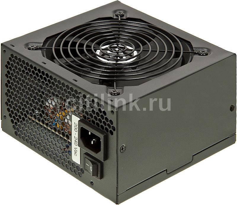Блок питания Aerocool ATX 450W VP-450 (24+4pin) APFC 4*SATA I/O switch RTL (отремонтированный)