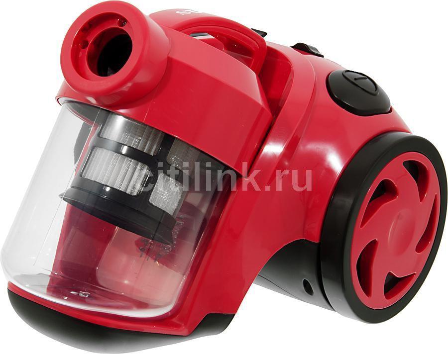Пылесос SUPRA VCS-1615, 1600Вт, красный