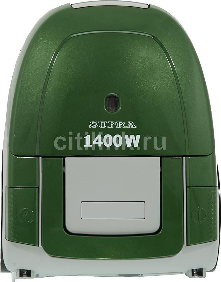 Пылесос SUPRA VCS-1475, 1400Вт, зеленый