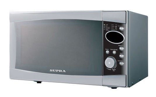 Микроволновая печь SUPRA MWS-4325, серебристый