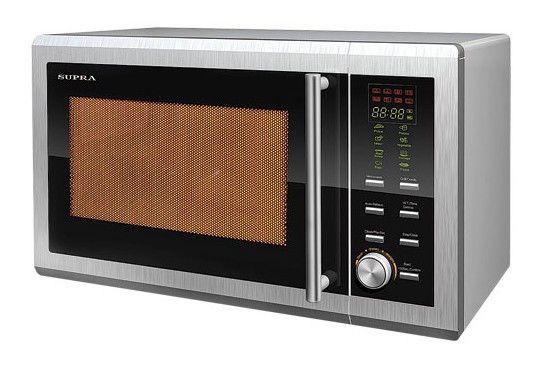 Микроволновая печь SUPRA MWS-1723, серебристый